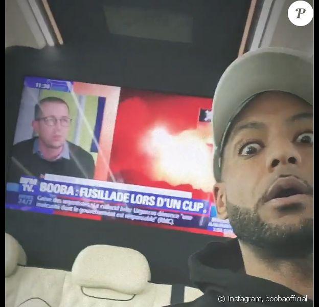 Booba réagit à la fusillade survenue lors du tournage de son clip- 21 août 2019.