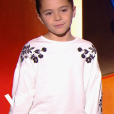 """Magalie Vaé, gagnante de la """"Star Academy 5"""", débarque comme prof d'une fillette dans """"The Voice Kids"""", le 23 août 2019 sur TF1."""