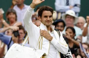 Sa majesté Roger Federer retrouve... sa place de numéro un mondial ! Sa femme est aux anges !!!