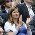 Mirka Federer encore son Roger depuis le début du tournoi londonien !