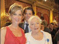 Michèle Laroque, rayonnante au bras de François Baroin, est venue soutenir Line Renaud pour son grand moment !