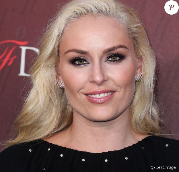 """Lindsey Vonn - Photocall de la soirée """"Sports Illustrated Fashionable 50"""" au Sunset Room Hollywood à Los Angeles, le 18 juillet 2019."""