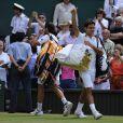 Roger Federer à Wimbledon le 3 juillet 2009