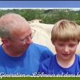 """Denis de """"L'amour est dans le pré"""" présente son fils Théo dans """"L'amour est dans le pré, que sont-ils devenus ?"""", le 19 août 2019, sur M6"""