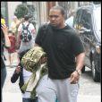 Timbaland en famille à Paris, le 3 juillet 2009