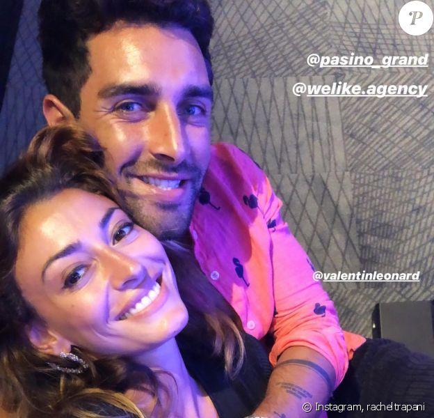 Rachel Legrain-Trapani et son compagnon Valentin Léonard sur Instagram.