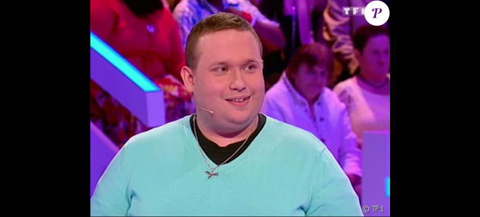 """Sylvain dans """"Les 12 Coups de midi"""" en 2015, sur TF1"""