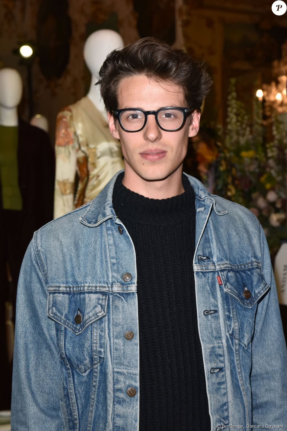 Germain Louvet lors de la soirée d'anniversaire de Matchesfashion.com à Paris, France, le 19 avril 2017. © Giancarlo Gorassini/Bestimage