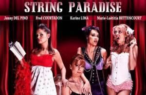 Jenny Del Pino, Karine Lima et Fred Courtadon... trois filles sexy pour un show très chaud !