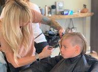 Pink et sa fille Willow les cheveux rasés sur le côté, des jumelles !