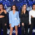 "Little Mix au photocall des ""Global Awards 2018"" à Londres, le 1er mars 2018."