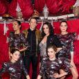 """Backstage de l'émission """"Tous au Moulin Rouge pour le sidaction"""" au Moulin Rouge à Paris le 20 mars 2017. L'émission sera diffusée sur France 2 le samedi 25 mars à 21h00. © Cyril Moreau - Dominique Jacovides / Bestimage"""