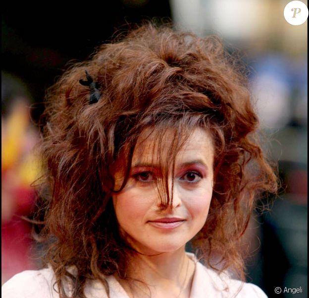 Helena Bonham Carter, alias Bellatrix Lestrange dans Harry Potter, lors de la première à Londres de Harry Potter et le Prince de Sang-Mêlé, le 7 juillet 2009