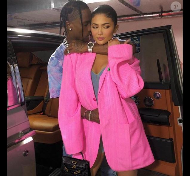 Kylie Jenner et Travis Scott, le 21 juillet 2019.