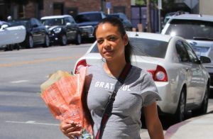 Christina Milian enceinte de M. Pokora : baby bump et shopping pour bébé