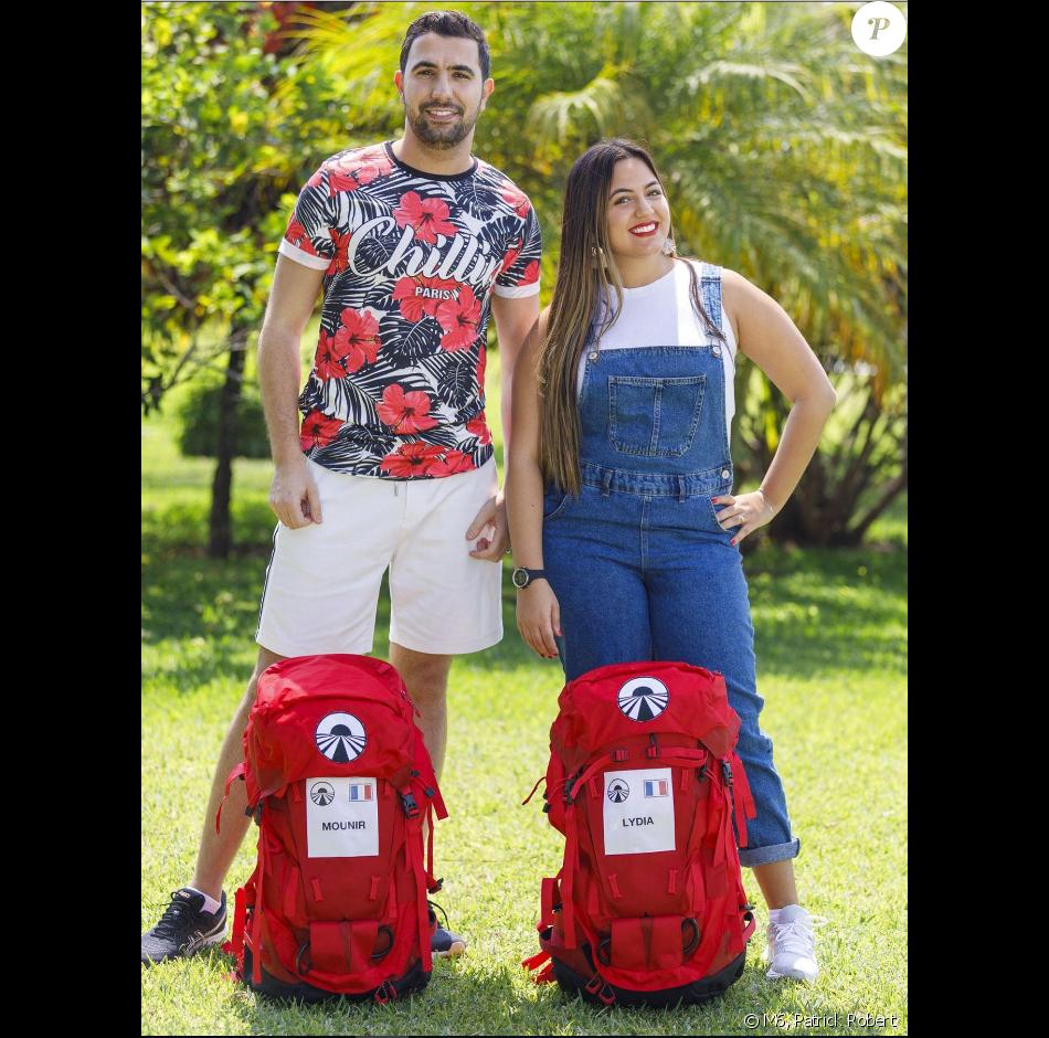 """Mounir et Lydia, candidats de """"Pékin Express 2019"""", photo officielle de M6"""