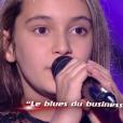 """Camille - """"The Voice Kids 2019"""", le 20 septembre 2019 sur TF1."""