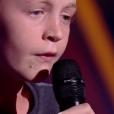 """Kylian - """"The Voice Kids 2019"""", le 20 septembre 2019 sur TF1."""
