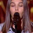 """Manon - """"The Voice Kids 2019"""", le 20 septembre 2019 sur TF1."""