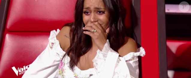 """Amel Bent - """"The Voice Kids 2019"""", le 20 septembre 2019 sur TF1."""