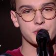 """Pierre - """"The Voice Kids 2019"""", le 20 septembre 2019 sur TF1."""