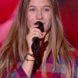 """Mila - """"The Voice Kids 2019"""", le 20 septembre 2019 sur TF1."""