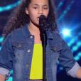 """Romane - """"The Voice Kids 2019"""", le 20 septembre 2019 sur TF1."""