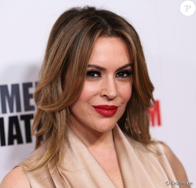 Alyssa Milano à la 32e soirée annuelle American Cinematheque Awards à Beverly Hills, le 29 novembre 2018.