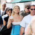 Ali Larter sur le tournage de la prochaine saison de Heroes mercredi 8 juillet à Los Angeles