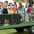 """Kate Middleton, duchesse de Cambridge, inaugure le jardin d'enfants lors du festival """"Back to Nature"""" à Wisley, le 10 septembre 2019."""