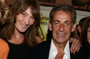 Carla Bruni, photo et tendre message à Nicolas Sarkozy :