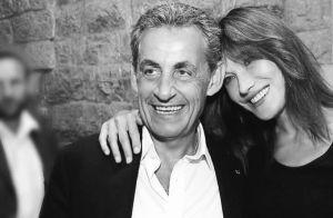 Carla Bruni, photo et tendre message à Nicolas Sarkozy :