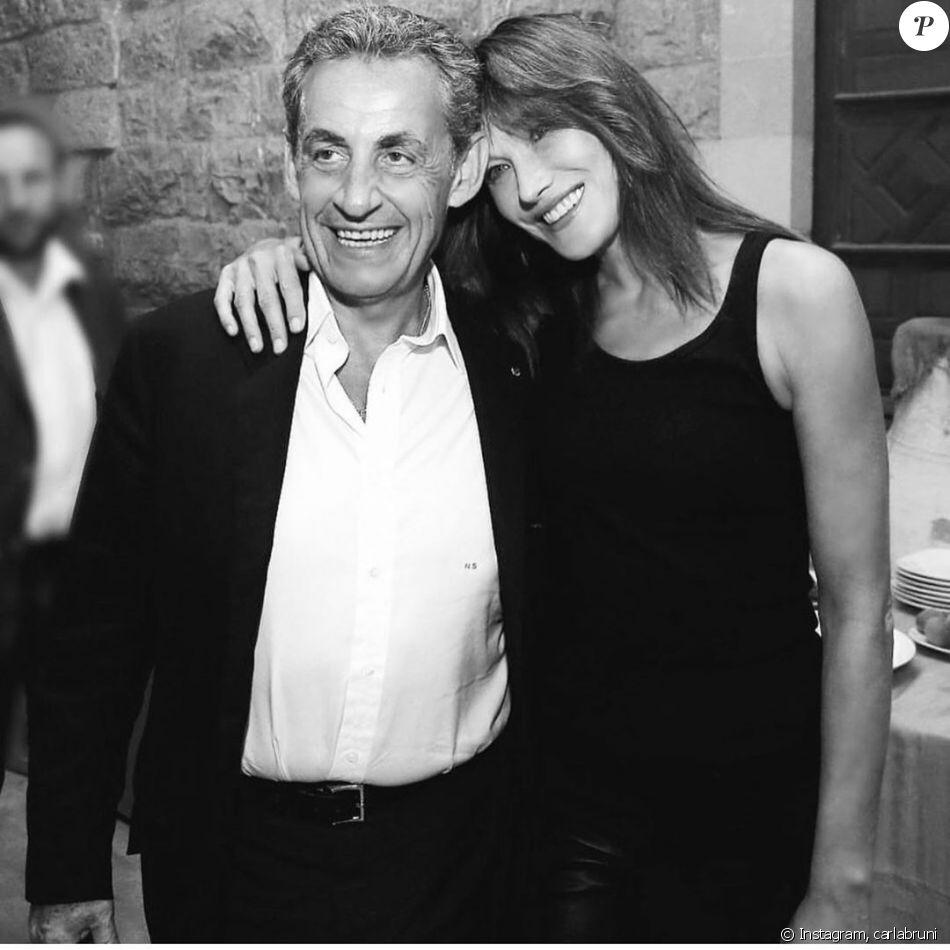 Carla Bruni sur Instagram.