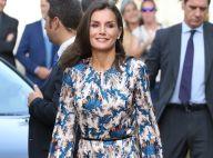 Letizia d'Espagne : Troisième sortie de l'année de sa robe Sandro, à Burgos