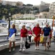 Exclusif - Le prince Albert II de Monaco a participé le 21 septembre 2019 à la première édition en principauté du World CleanUp Day, une opération de ramassage de déchets. © Jean-François Ottonello / Nice-Matin / Bestimage