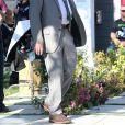 Exclusif - Sid Haig sur le tournage de 'Abruptio' à Los Angeles, le 24 mai 2016