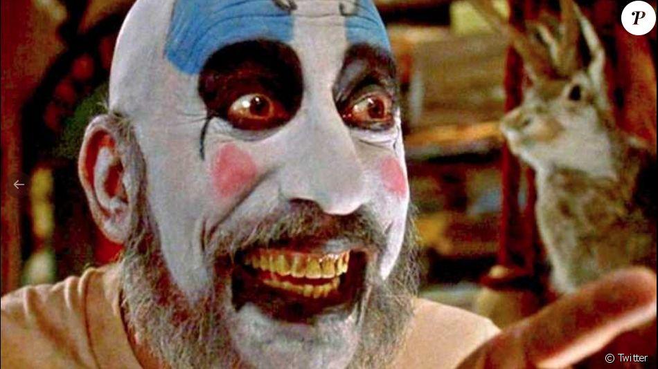 Sid Haig en tant que Captain Spaulding, le clown sadique des films