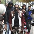 Le rappeur Tyga a assisté au défilé Lanvin, collection prêt-à-porter printemps-été 2020 lors de la Fashion Week de Paris. Le 25 septembre 2019. © Michael Baucher/Panoramic/Bestimage