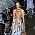 Défilé Lanvin, collection prêt-à-porter printemps-été 2020 lors de la Fashion Week de Paris. Le 25 septembre 2019.