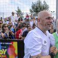 Pascal Obispo et Malik Bentalha lors de la grande finale de la Z5 Cup à Aix-en-Provence, France, 23 juin 2019. © Norbert Scanella/Panoramic/Bestimage