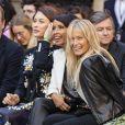 Olga Kurylenko, Sonia Rolland et Estelle Lefébure assistentau défilé L'Oréal Paris 2019 à la Monnaie de Paris le 28 septembre 2019, pendant la fashion week. © Olivier Borde / Bestimage