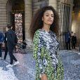 Tuna Kunakey assiste au défilé L'Oréal Paris 2019 à la Monnaie de Paris le 28 septembre 2019, pendant la fashion week. © Olivier Borde / Bestimage