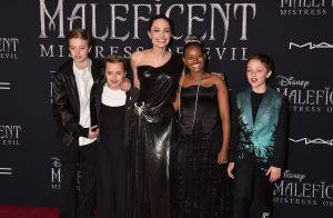 Angelina Jolie avec ses enfants face à Heidi Klum et son mari pour Maléfique 2