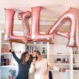 Anaïs Sanson, enceinte de son deuxième enfant, dévoile le prénom de sa fille sur Instagram, le 29 septembre 2019