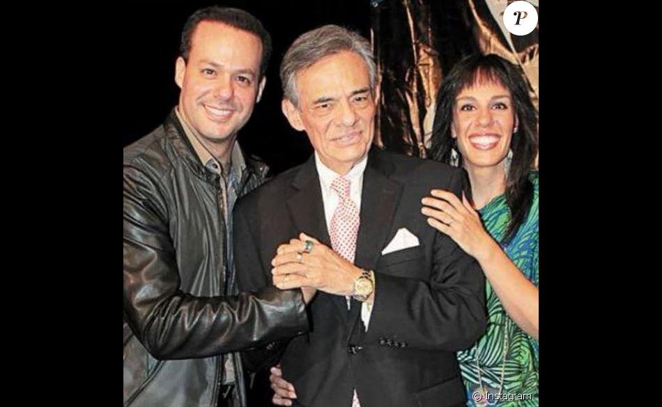 José José et ses enfants Joel et Marysol. Le chanteur est décédé le 28 septembre 2019 à Miami.