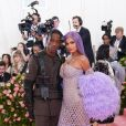"Travis Scott et sa compagne Kylie Jenner - Arrivées des people à la 71ème édition du MET Gala (Met Ball, Costume Institute Benefit) sur le thème ""Camp: Notes on Fashion"" au Metropolitan Museum of Art à New York, le 6 mai 2019."