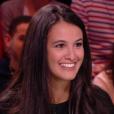 """Lilia Hassaine dans """"Quotidien"""" sur TMC."""