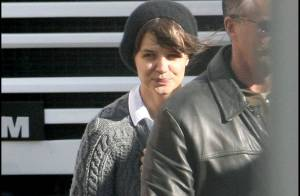 Katie Holmes retrouve le chemin des studios... mais sa maison est hantée !