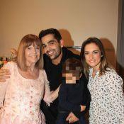 Christophe Licata en famille face à Jean Dujardin pour rencontrer Chantal Goya