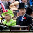 David Armstrong-Jones - La reine Elisabeth II d'Angleterre lors du 4ème jour du Royal Ascot 2018 a Ascot le 22 juin 2018.